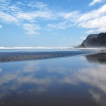Karekare Beach reflections