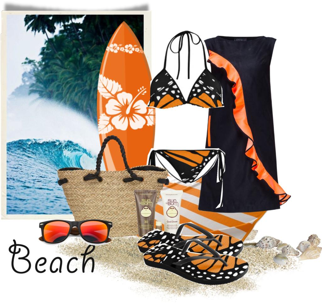 Beach Day - Surfing