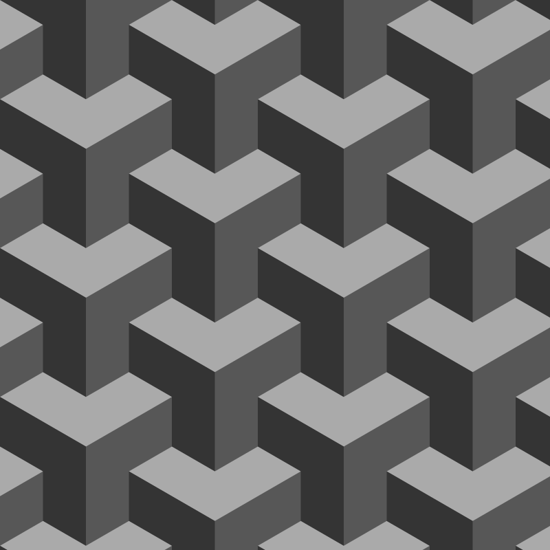 Repeat Pattern, Piled Cubes