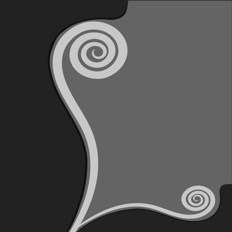 New Beginning, koru swirl, fern leave