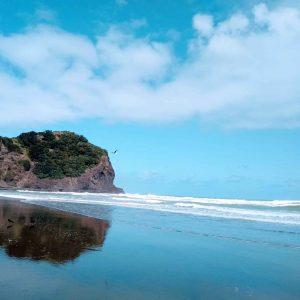 Blue Sky Along The Coast as Mood Barometer