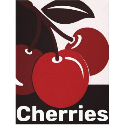 Red Cherry Decor For Kitchen Wall Decor