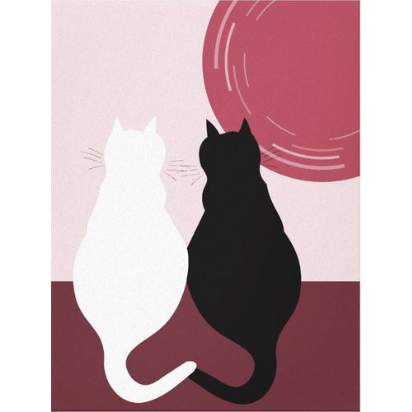 Red Cat Wall Decor For Kitchen