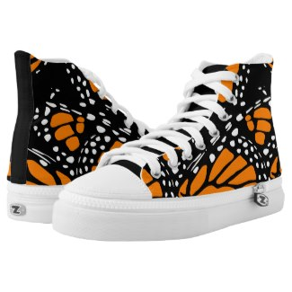 monarch butterfly high tops