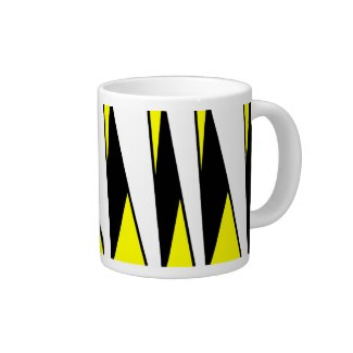 Striped Mug - Monarch Caterpillar