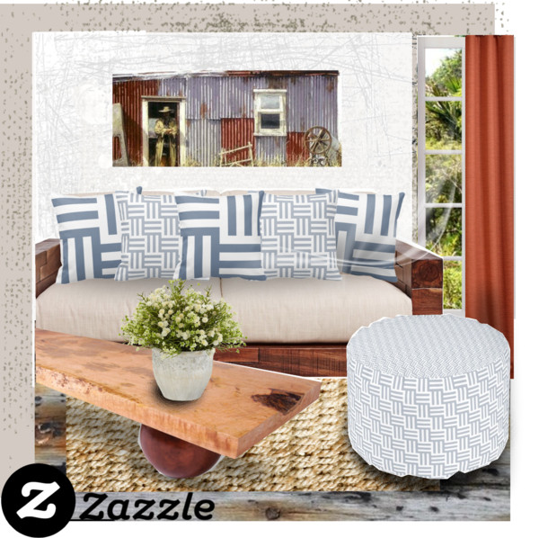 Tiles Design on Home Decor with Zazzle